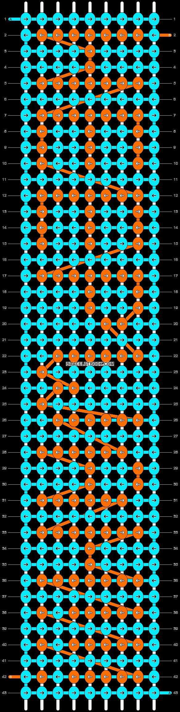 Alpha pattern #5963 pattern