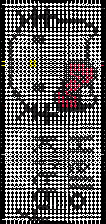 Alpha pattern #5964 pattern
