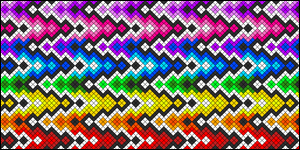 Normal Friendship Bracelet Pattern #5965