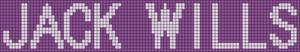 Alpha Friendship Bracelet Pattern #5972