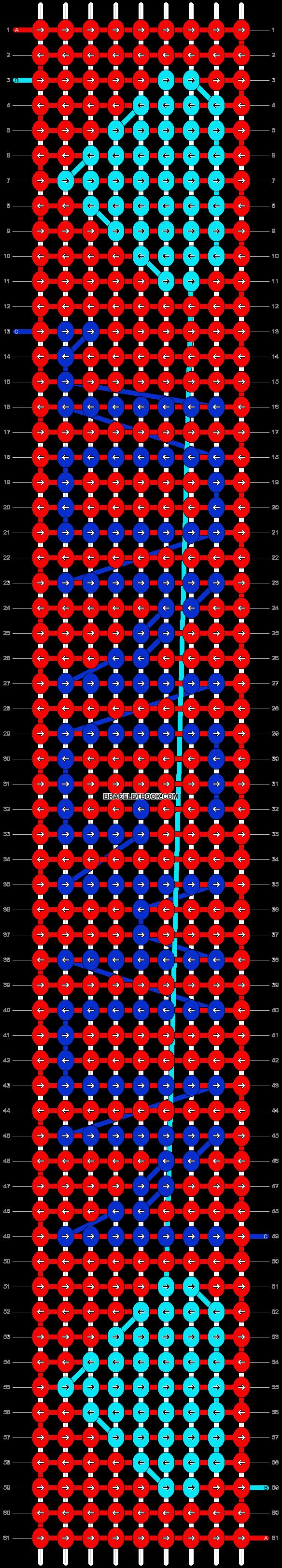 Alpha pattern #5973 pattern