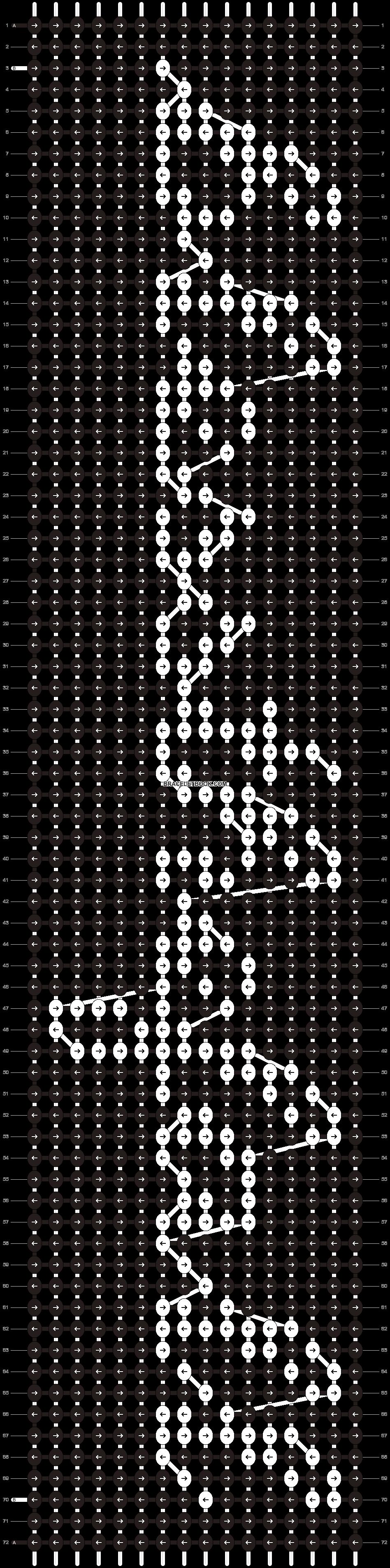 Alpha pattern #5974 pattern
