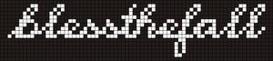 Alpha Friendship Bracelet Pattern #5974