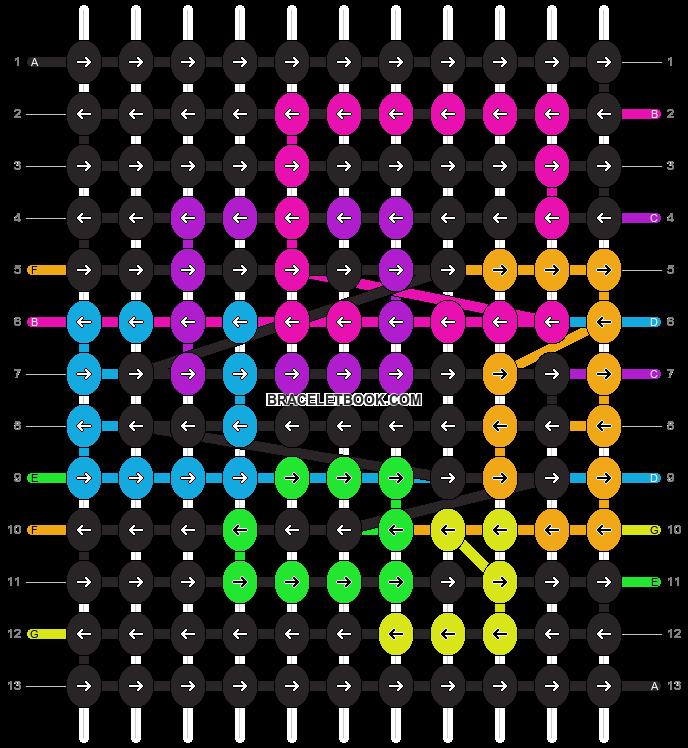 Alpha pattern #5979 pattern