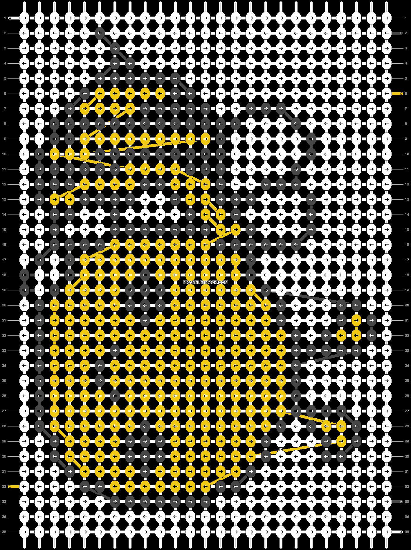 Alpha pattern #5981 pattern