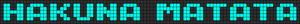 Alpha pattern #5986