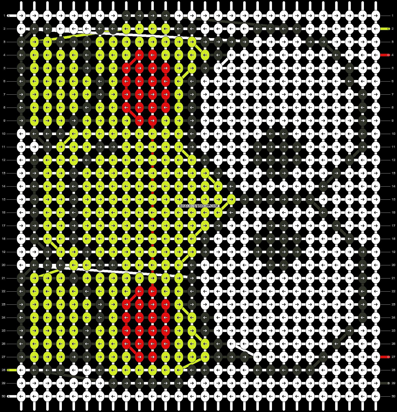 Alpha pattern #5988 pattern