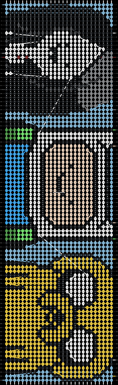 Alpha pattern #5993 pattern