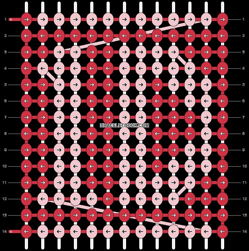 Alpha pattern #6002 pattern