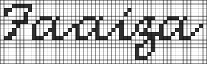 Alpha pattern #6003