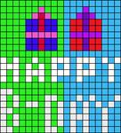 Alpha pattern #6007