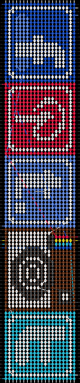 Alpha pattern #6012 pattern