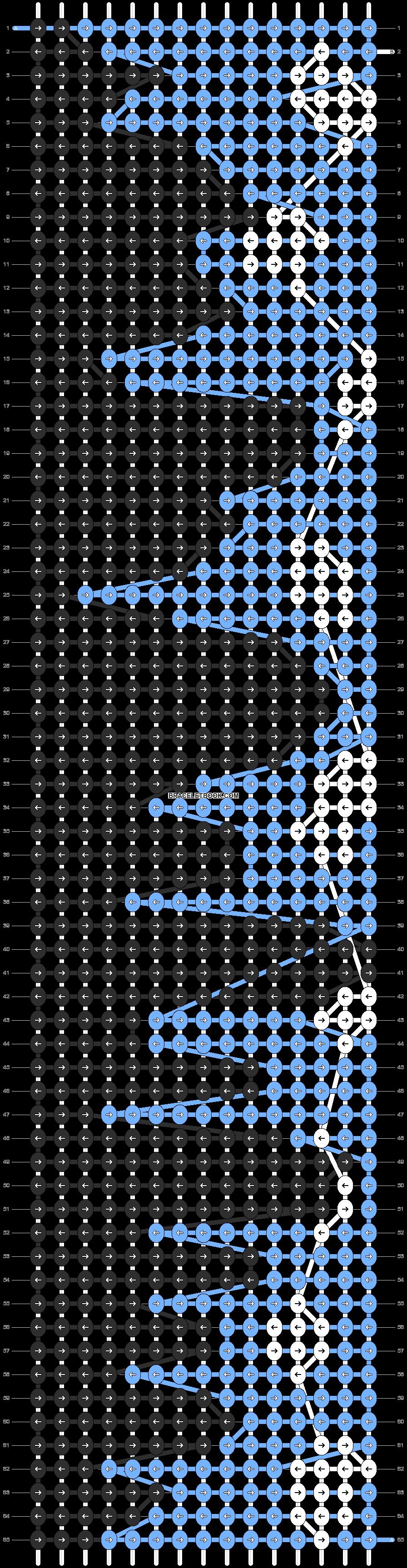 Alpha pattern #6015 pattern
