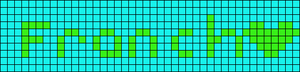 Alpha pattern #6017