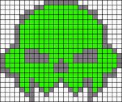 Alpha pattern #6018