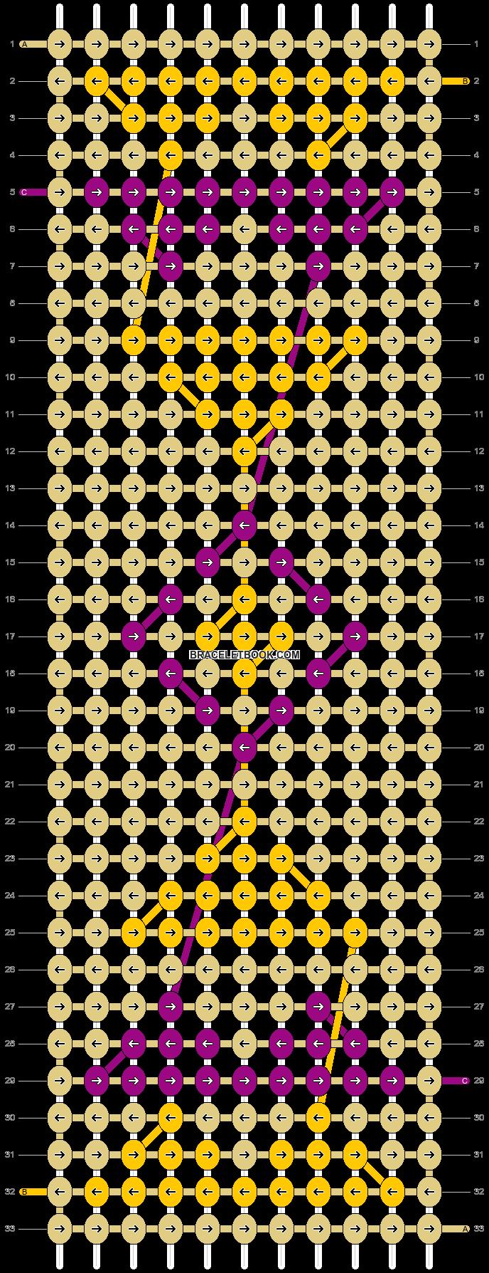 Alpha pattern #6020 pattern