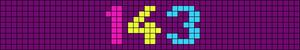 Alpha pattern #6021