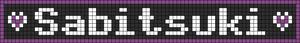 Alpha pattern #6023