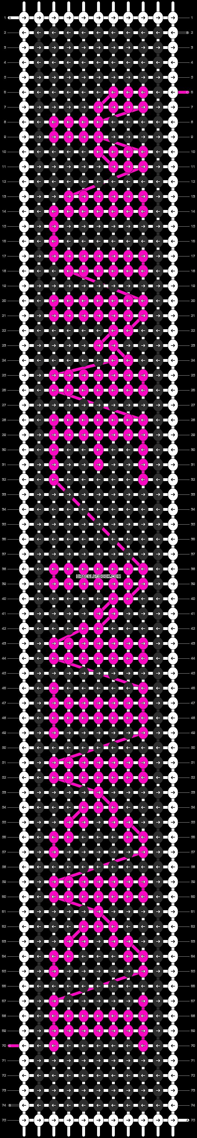 Alpha pattern #6024 pattern