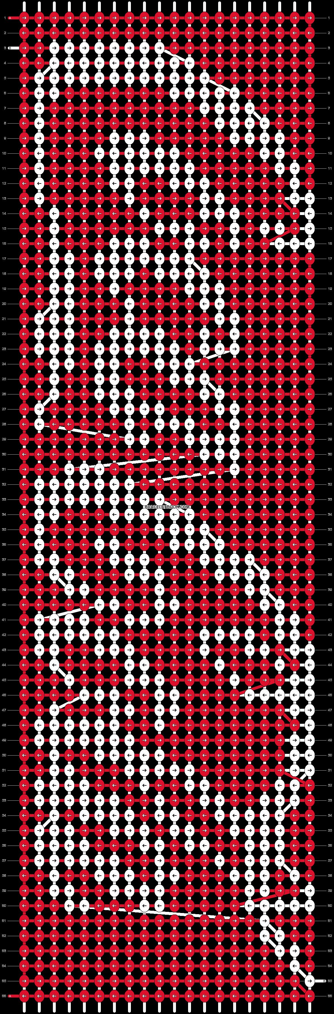 Alpha pattern #6034 pattern