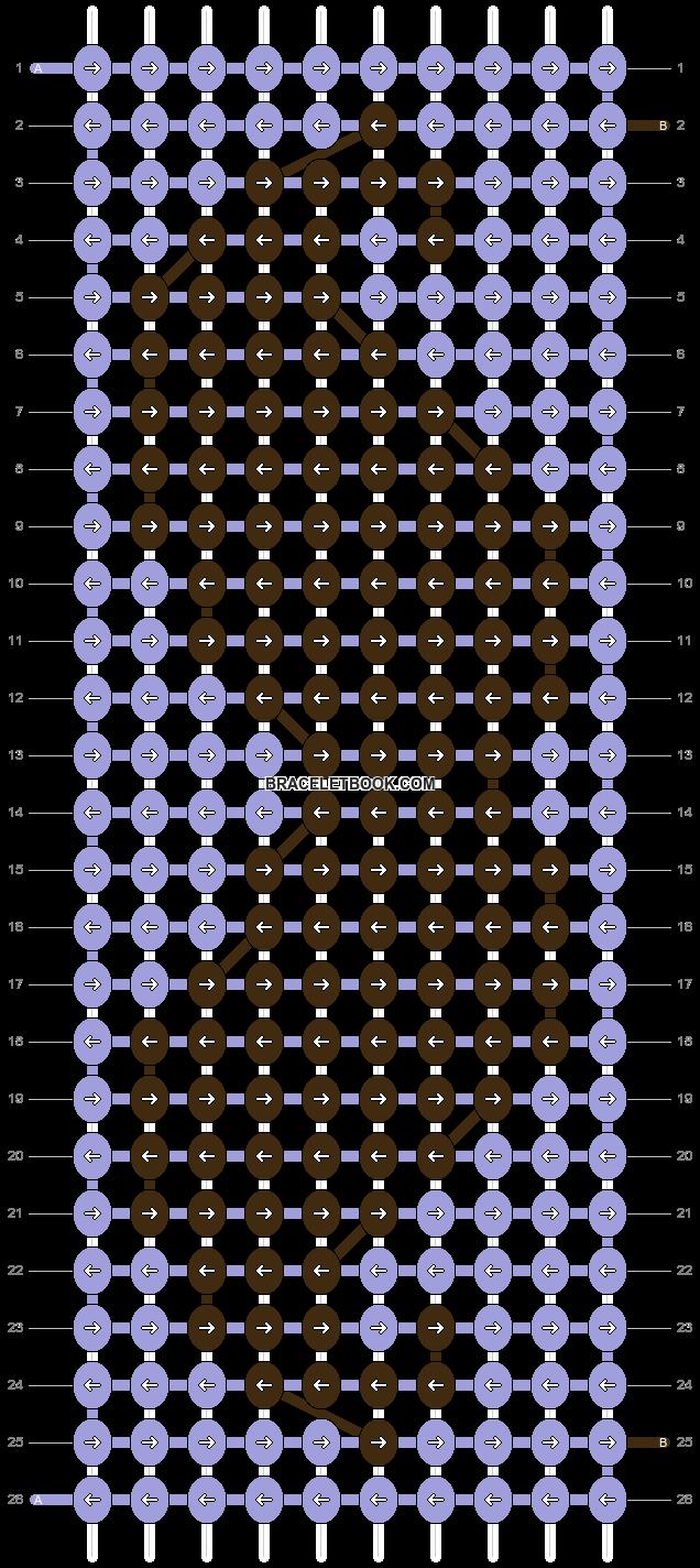 Alpha pattern #6037 pattern