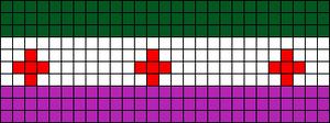 Alpha pattern #6058