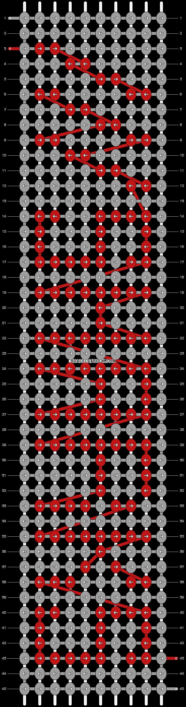 Alpha pattern #6060 pattern