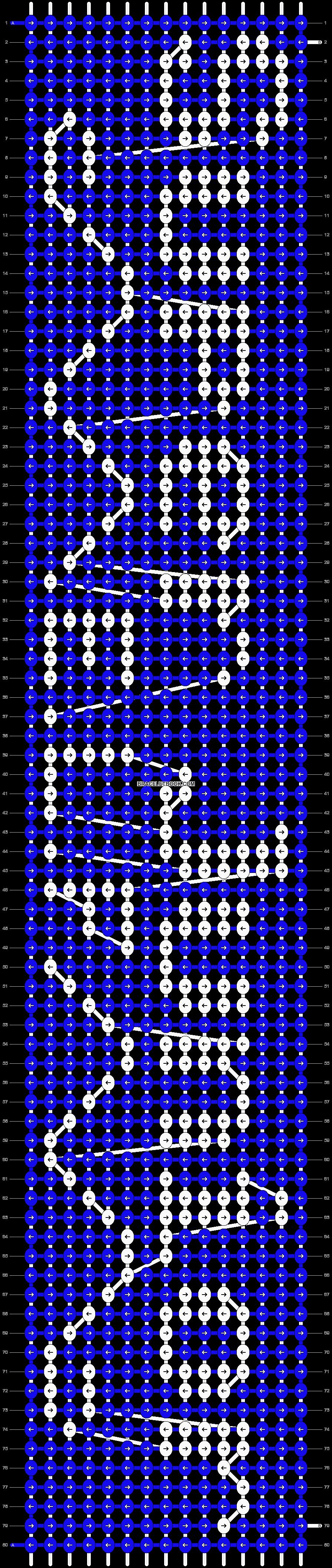 Alpha pattern #6065 pattern
