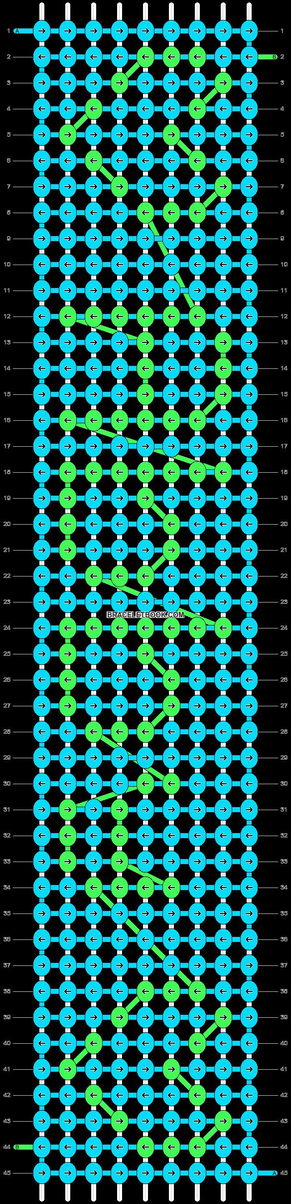 Alpha pattern #6067 pattern