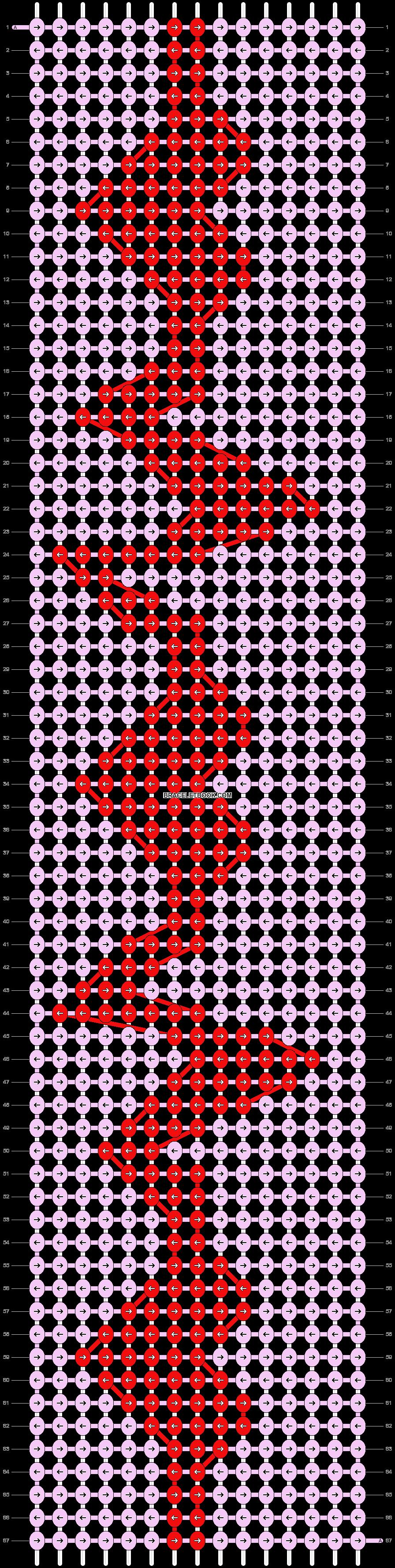 Alpha pattern #6068 pattern