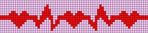 Alpha Friendship Bracelet Pattern #6068