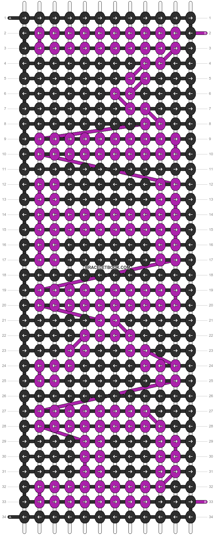 Alpha pattern #6070 pattern