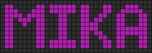 Alpha pattern #6070