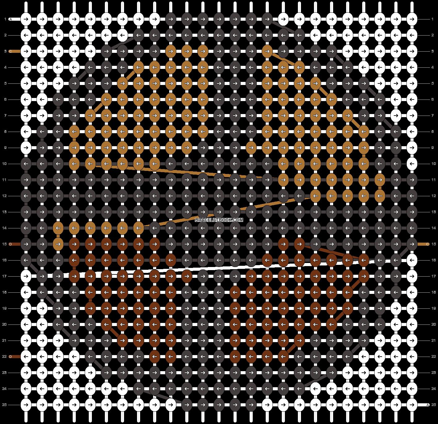 Alpha pattern #6072 pattern