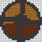 Alpha pattern #6072