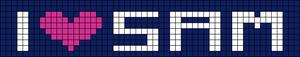 Alpha pattern #6075
