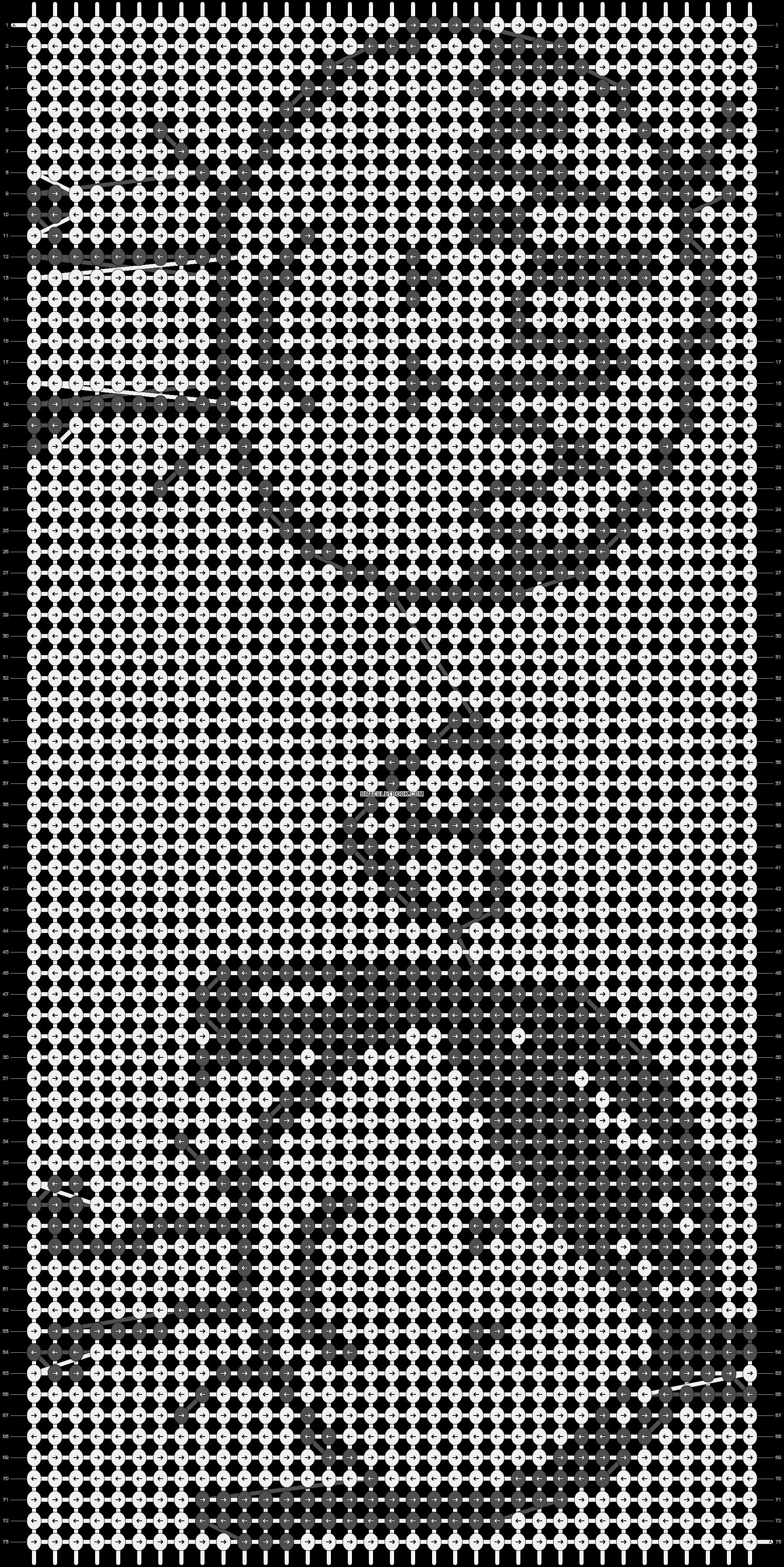 Alpha pattern #6077 pattern