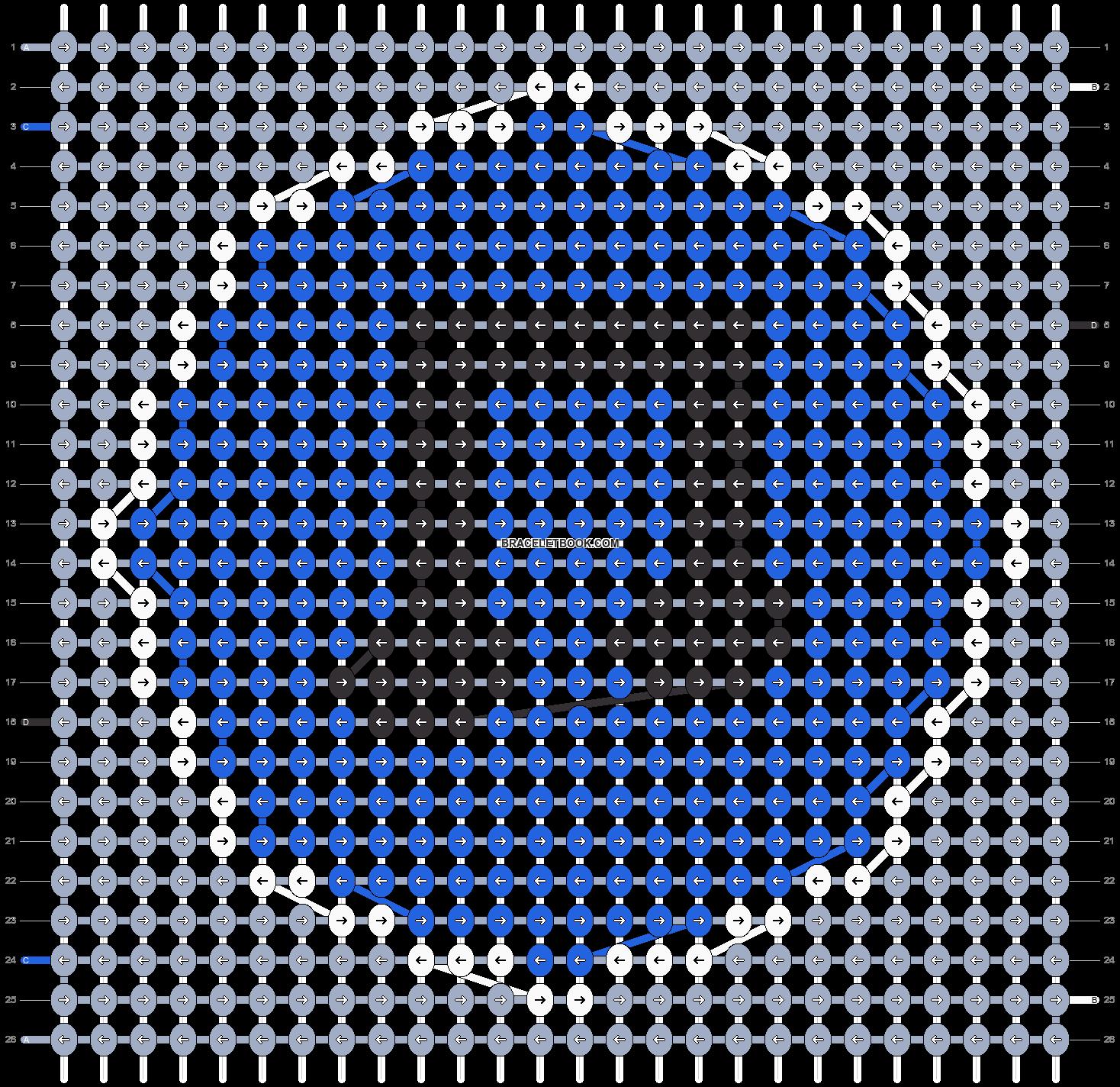 Alpha pattern #6078 pattern