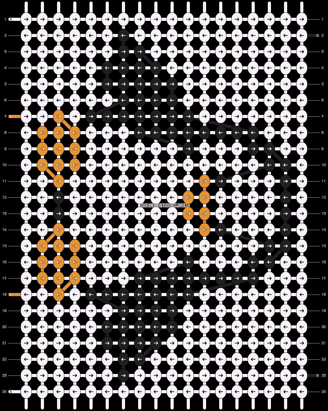 Alpha pattern #6079 pattern