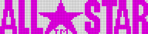 Alpha pattern #6080