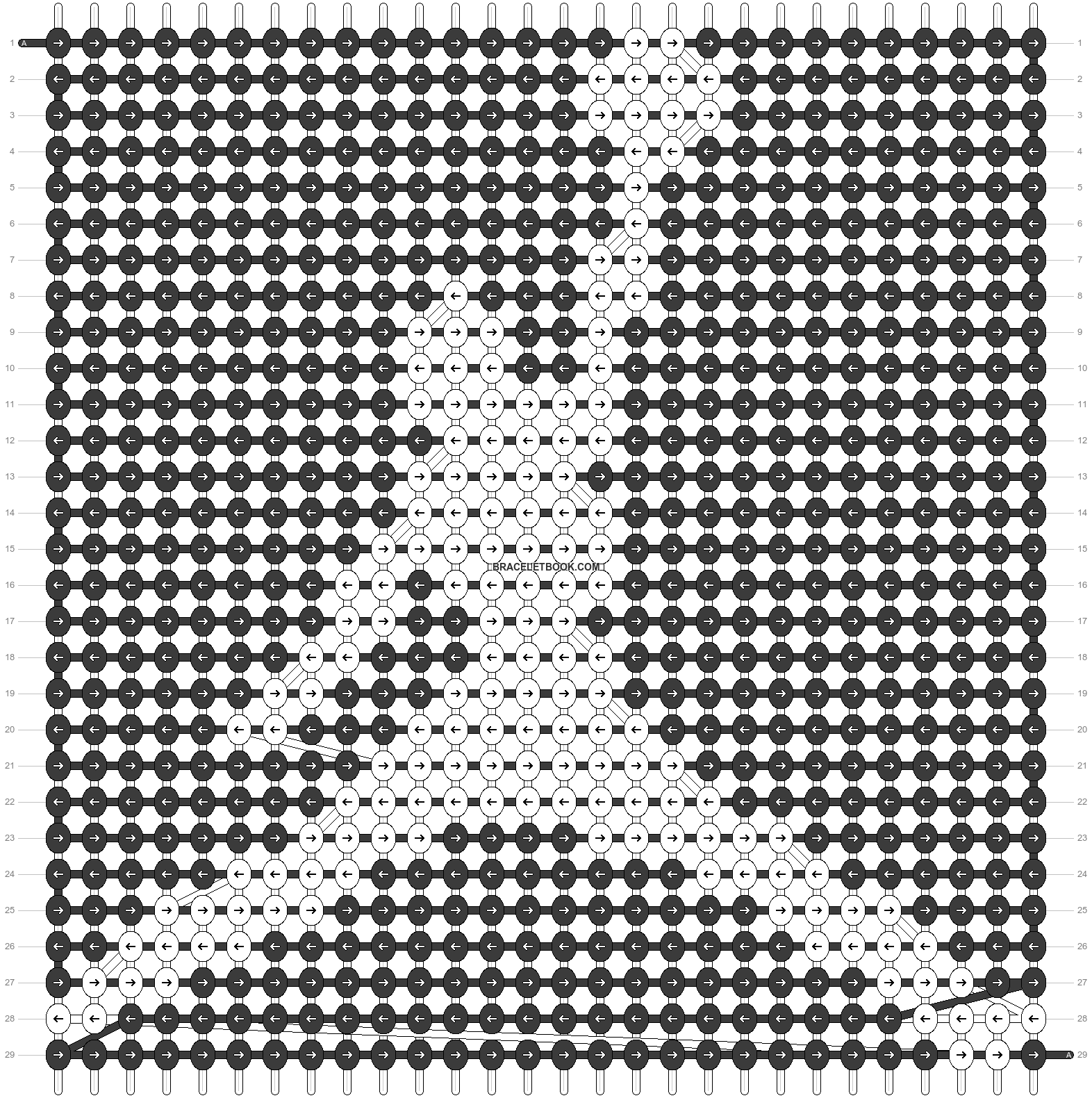 Alpha pattern #6083 pattern