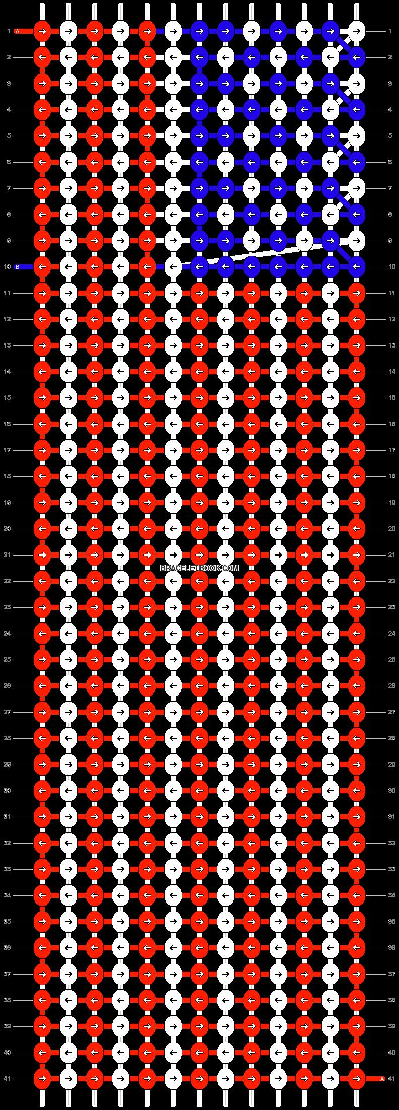 Alpha pattern #6086 pattern