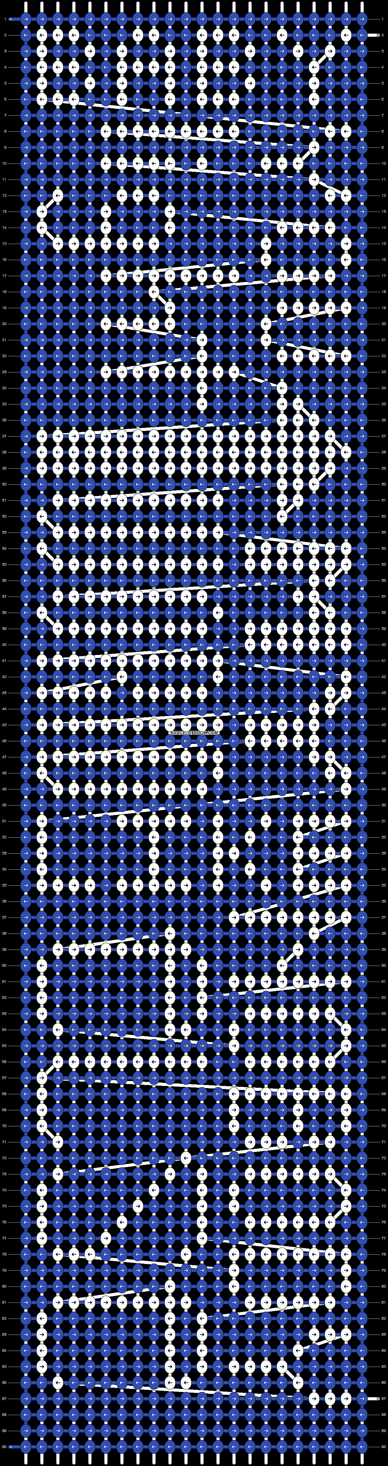 Alpha pattern #6087 pattern