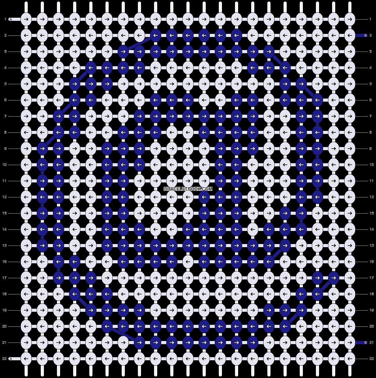 Alpha pattern #6088 pattern