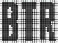 Alpha pattern #6089
