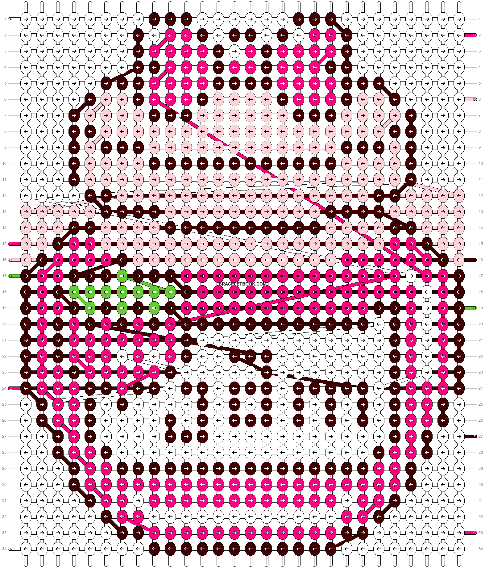 Alpha pattern #6094 pattern