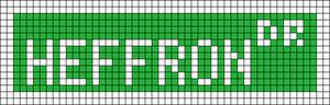 Alpha pattern #6095