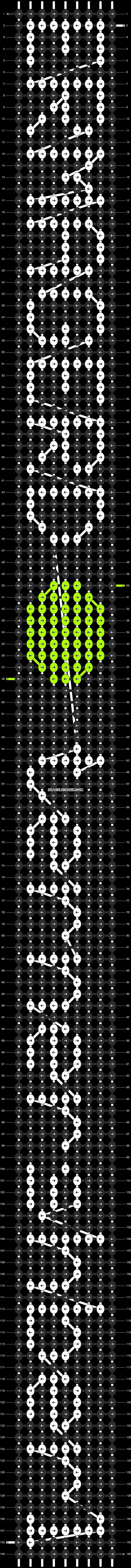 Alpha pattern #6104 pattern