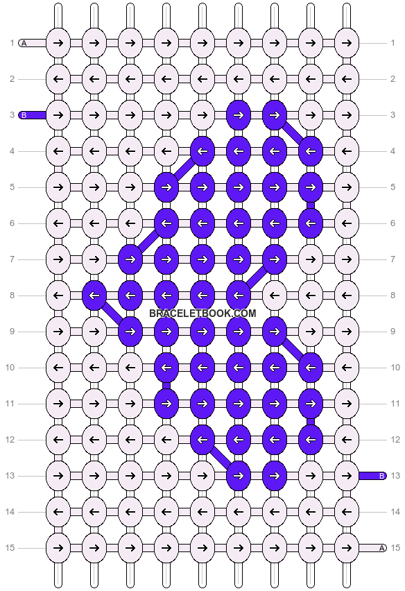 Alpha pattern #6106 pattern