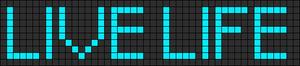 Alpha pattern #6107